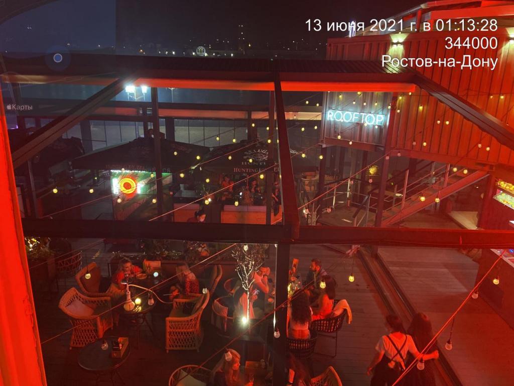 В ресторанах и ночных клубах Ростова прошли антиковидные рейды